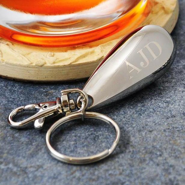 Personalized Bottle Opener Key Chain - 3hx1w, Silver