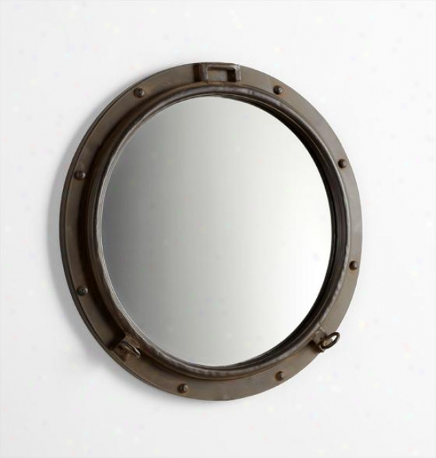 Porto Wall Mirror - 23.5hx3.25w, Bronze