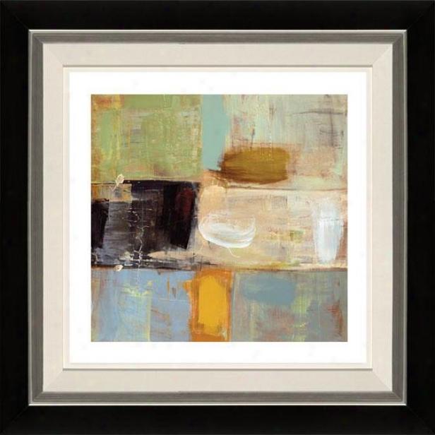 Present Day Ii Framed Wlal Art - Ii, Flt Black/slvr