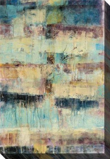 Primayr Ii Canvas Wall Art - Ii, Blue