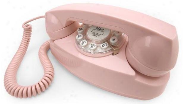 """""""princess Phone - 4.25""""""""hx8.5""""""""w, Pink"""""""