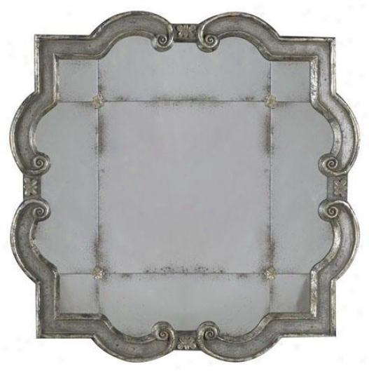 Prisca Mriror - Large, Silver