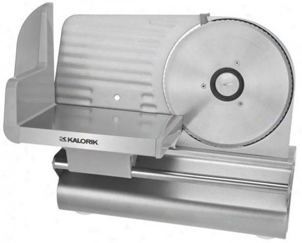 Professional Meat Slicer - 11.5hx11wx15d, Silver
