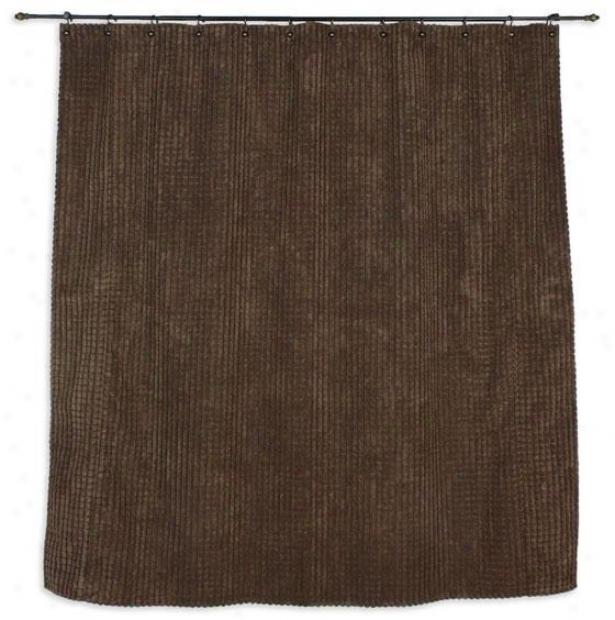 Promise Collection Shower Curtain - Shr Curtn 72x72, Cld Nine Coffee