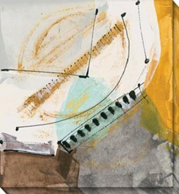 Proposition Iii Canvas Wall Art - Iii, White