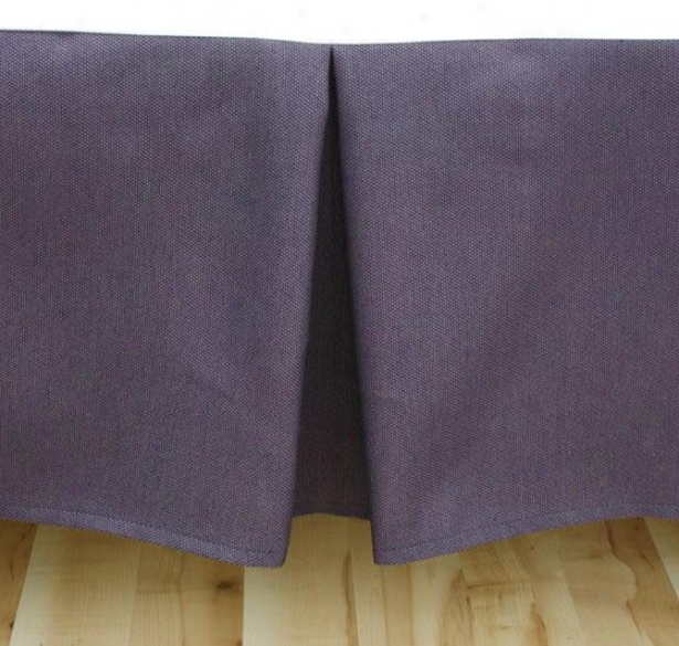 Proverb Collection Bedding - Bedskirt King, Proverb Plum