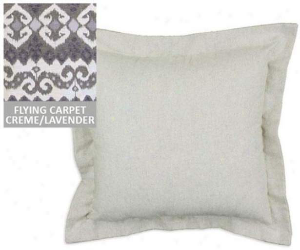"""provsrb Collection Pillows - Flanged 17""""sq, Fl Crapt Fatima"""