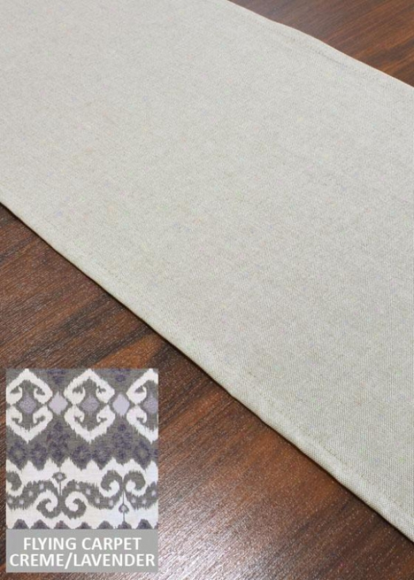 """""""proverb Collection Table Runner - Table Runner,12.5x72""""""""x, Flying Carpet Fatimax"""""""