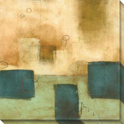 Pure And Simple Ii Canvas Wall Art - Ii, Beige