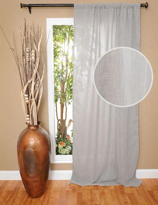 """raima Curtain Panel - 97h X 48""""w, Gray"""