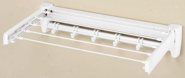 """""""retractable Drying Rack - 5""""""""hx25""""""""wx13""""""""d, Of a ~ color"""""""