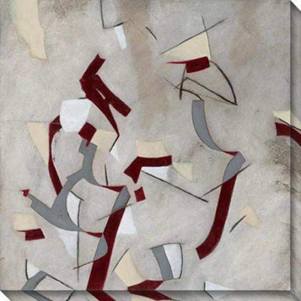 Ribbon I Canvas Wall Practical knowledge - I, Black