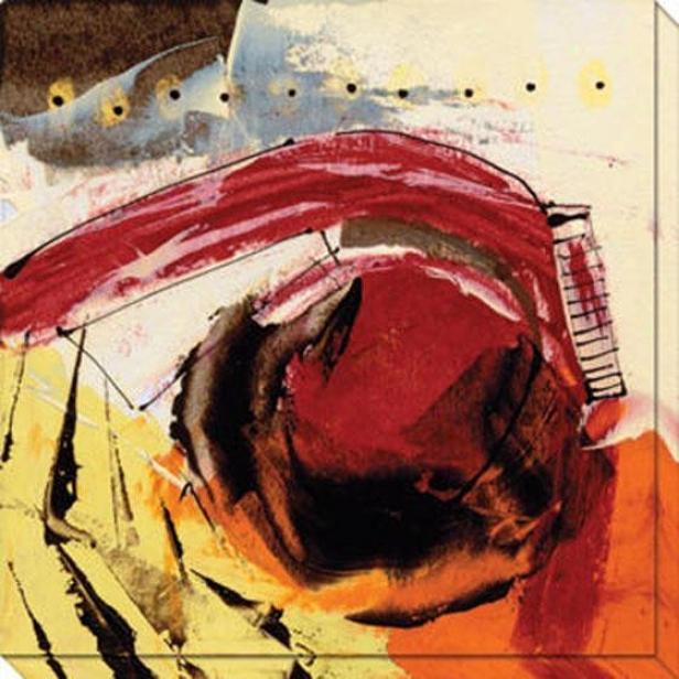 Ripe Grain Iv Canvas Wall Arg - Iv, Yellow