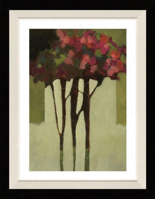 Romance I Framed Wall Art - I, Matted Black