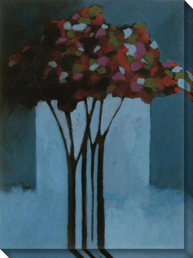 Romance Ii Canvas Wall Art - Ii/blue, Multi
