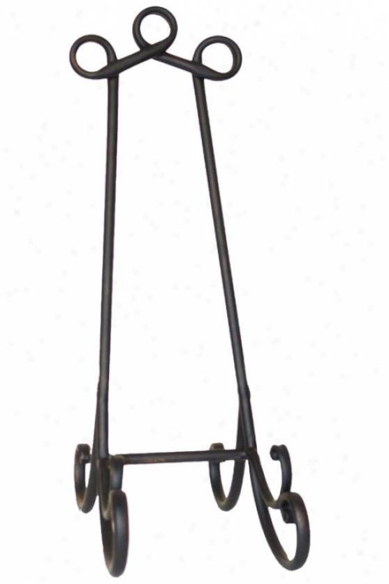 Rosabela Easel - Medium 10x18, Black