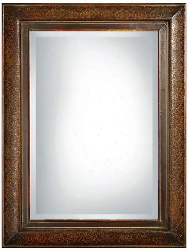 """""""rowena Mirror - 42""""""""hx30""""""""w, Maroom"""""""