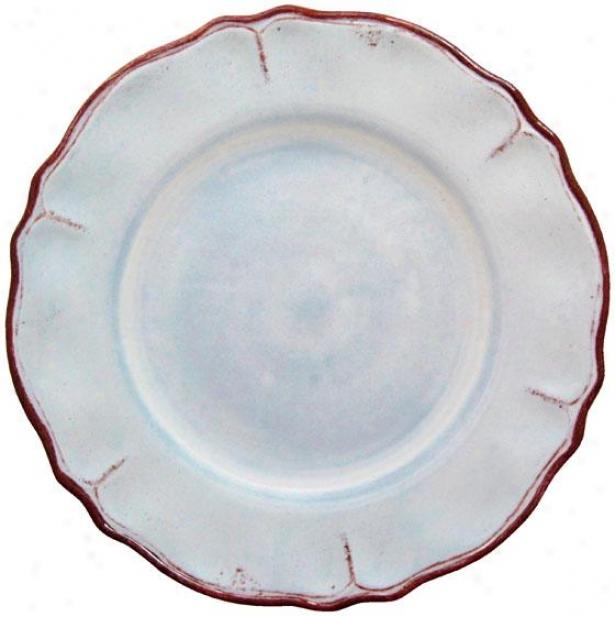Rustica Salad Plates - Set Of 4 - Set Of Four, Blue