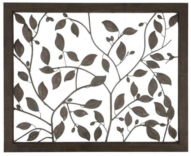 Sanaa Wall Art - 32.5h X 40w, Tan