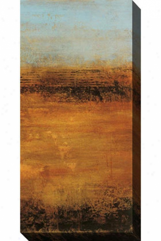 Satisfaction Ii Canvas Wall Art - Ii, Tan