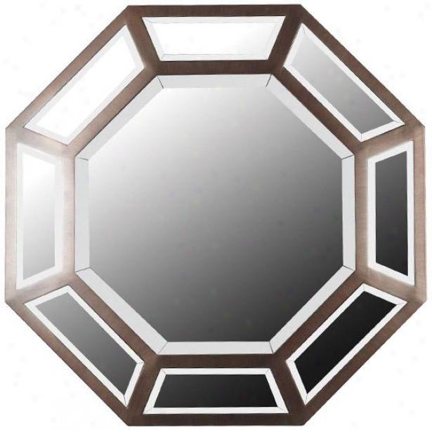 """saunders Wall Mirror - 30h X 30""""w, Bronze"""