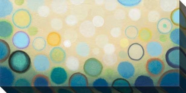 Sea Mist I Canvas Wall Art - I, Blue
