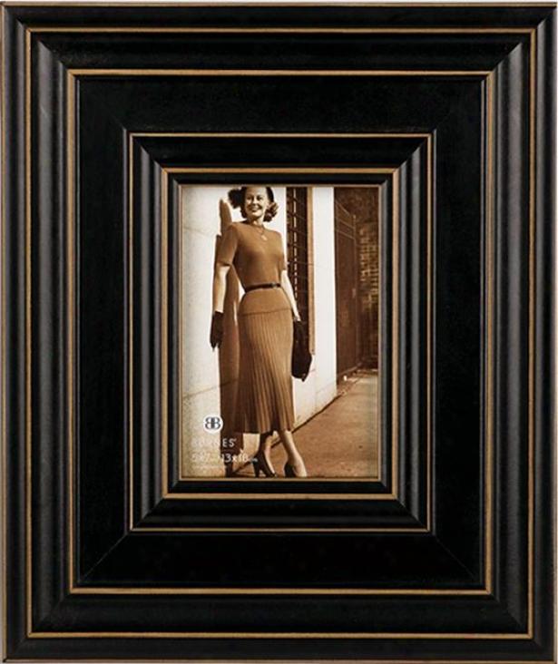 Sevikle Linear Picture Frame - 5x7 Frame, Black
