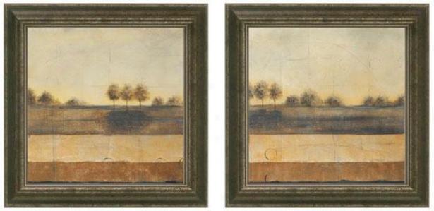 Still Journey Framed Wall Art - Set Of 2 - Set Of Two, Beige
