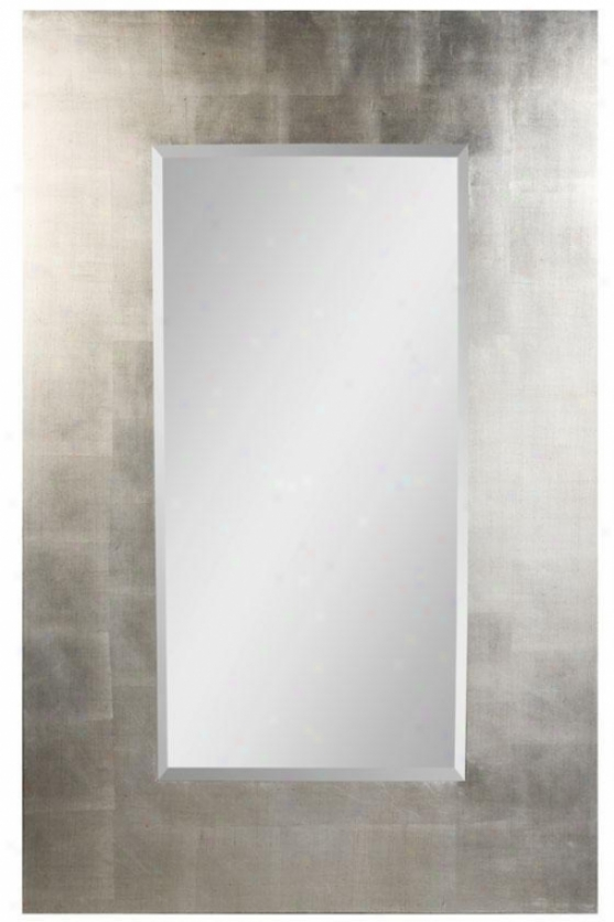 """simon Wall Mirror - 56""""hx36""""w, Black"""