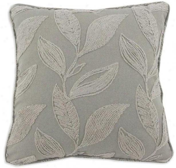 Small Talk Collection Pillows - Pil Corded 26sq, Dillion Gunmetl