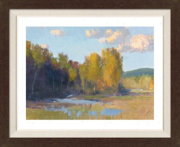 """south Fork Framed Wall Art - 30""""hx39""""w, Fltd Espresso"""
