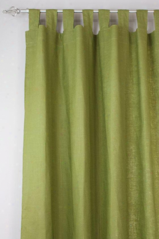"""""""sparkler Accumulation Curtain Panels - Tab Head Unlined Panel, 54x108""""""""x, Circa Solid Cactusx"""""""