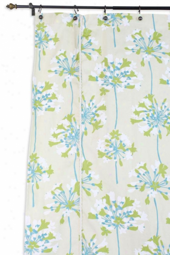 Sparkler Colllection Shower Curtain - X, Sparkler Citrin