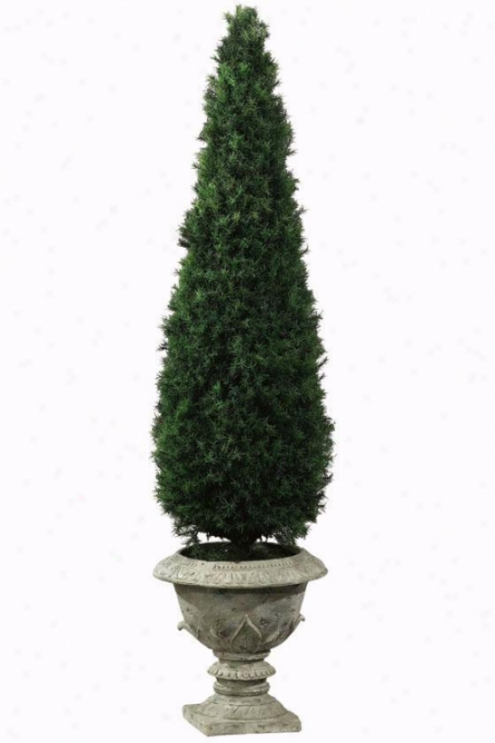"""springray Obelisk Topiary - 55""""h, Resin Base"""