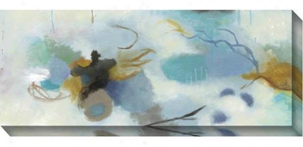 Springtime Abstract Ii Wall Art - Ii, Blue