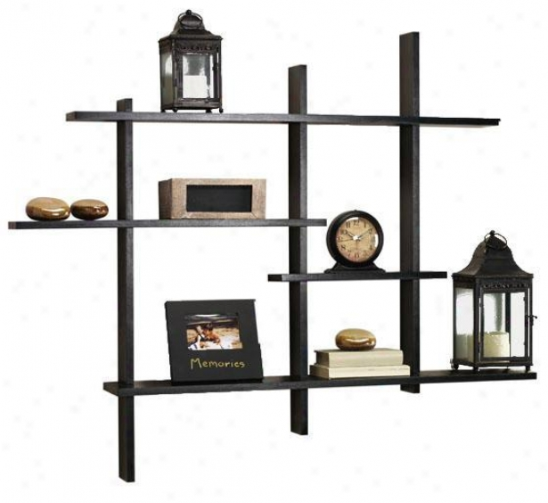 Standard Contemporary Expand Shelf - Standard, Black