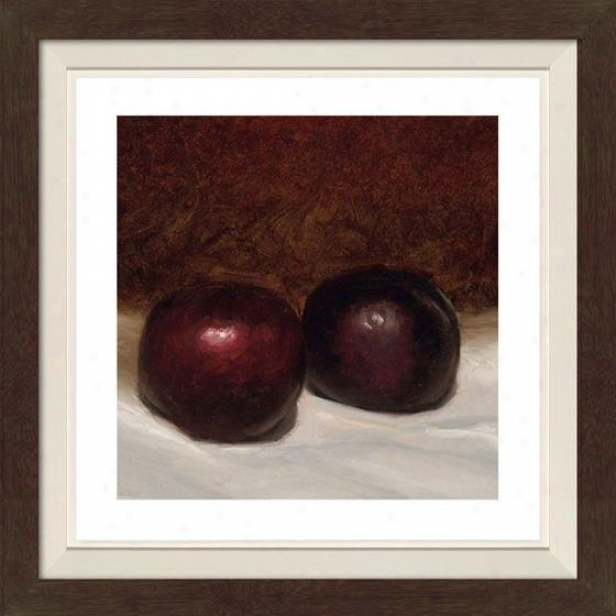 Still Life Ix Framed Wall Art - Ix, Fltd Espresso