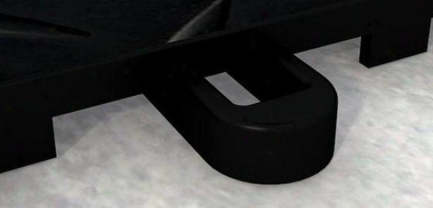 Storage Solutions Versatille Proloc Male Flooring Trim - Set Of 12 - Male, Black
