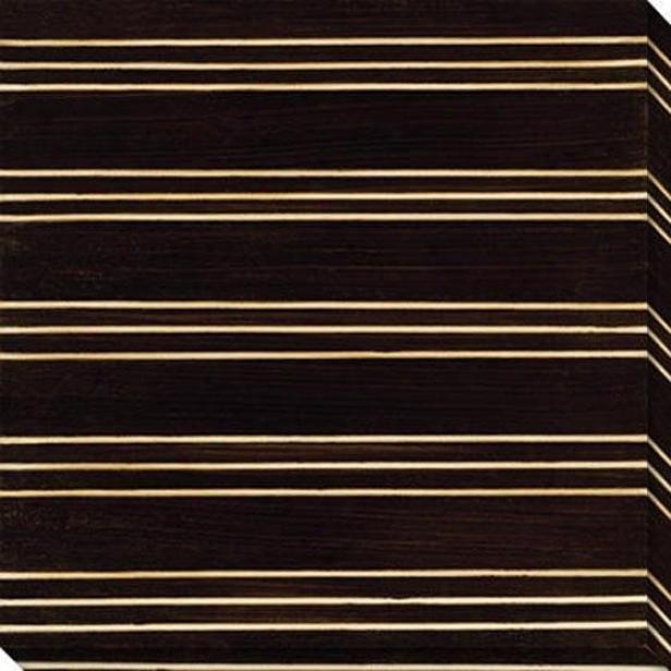 Stripe Vision Iv Canvas Wall Art - Iii, Black