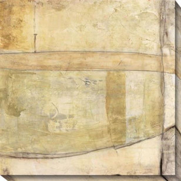 Subterranea Continuit Ii Canvas Wall Art - Ii, White