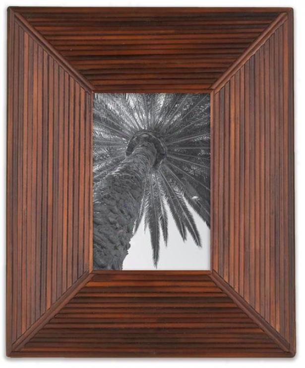 Sugarcane Picture Frame - 4x6 Frqme, Tostado