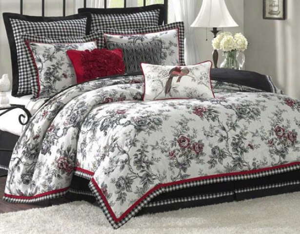 Summerfield Ii Comforter Set - Queen 9pc Set, White