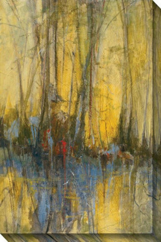 Sunrise Ii Canvas Wall Art - Ii, Yelkow