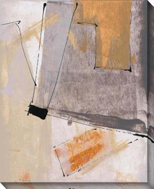 """""""synthetic Forms Canvas Wall Art - 36""""""""hx44""""""""w, White"""""""