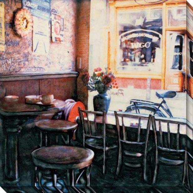 """tango Canvas Wall Art - 40"" ""hx40""""w, Black"""