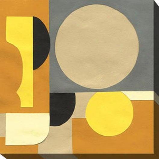 Terra Cotta I Canvas Wall Art - I, Golden