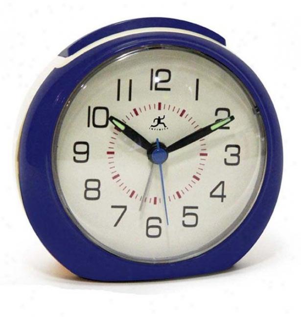 """the 60s Alarum Clock - 4""""hx4.25""""w, Blue/retrostyle"""