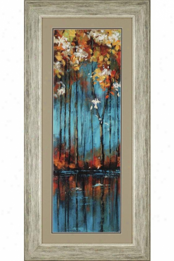The Mirror Framed Wall Art - Set Of 2 - Set Of Two, Turquoise