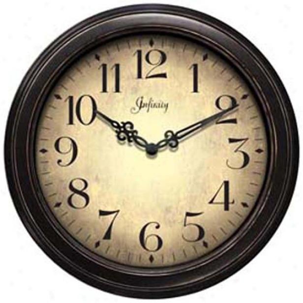 """""""the Precedent Wall Clock - 12""""""""d, Dismal"""""""