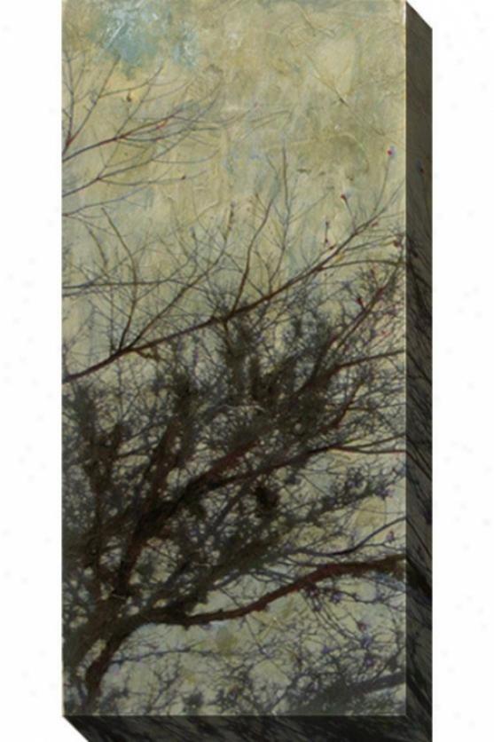 The Twilight I Canvas Wall Art - I, Gray
